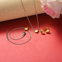 Stainless Steel Jewelry Sets -SSCSG126-20368L
