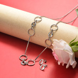 Stainless Steel Jewelry Sets -SSCSG126-20358YE
