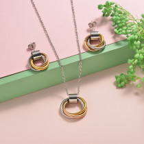 Stainless Steel Jewelry Sets -SSCSG126-20295J
