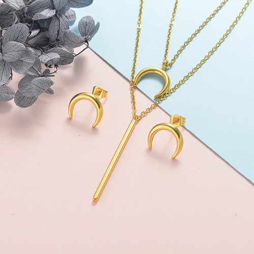 Stainless Steel Jewelry Sets -SSCSG126-20329YY