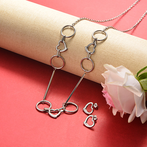 Stainless Steel Jewelry Sets -SSCSG126-20360YE