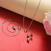 Stainless Steel Jewelry Sets -SSCSG126-20366WDW