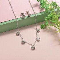 Stainless Steel Jewelry Sets -SSCSG126-20298Q