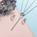 Stainless Steel Jewelry Sets -SSCSG126-20322J
