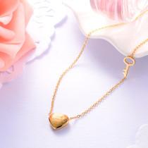 Collar de Acero Inoxidable -SSNEG143-9388-G