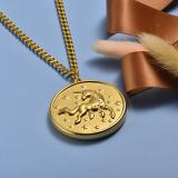 Collar de Acero Inoxidable -SSNEG143-20438-G