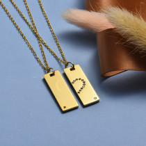Collar de Acero Inoxidable -SSCSG143-20433-G