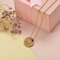 Collar de Oro con Circones -BRNEG155-20409