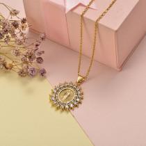 Collar de Oro con Circones -BRNEG155-20410