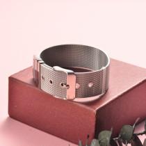 Pulsera de Acero Inoxidable en Moda para Mujer -SSBTG126-20345