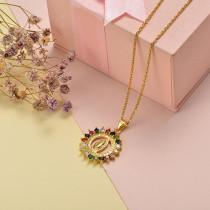 Collar de Oro con Circones -BRNEG155-20408