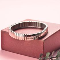 Pulsera de Acero Inoxidable en Moda para Mujer -SSBTG126-20343