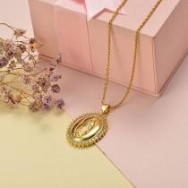 Collar de Oro con Circones -BRNEG155-20407
