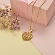 Collar de Oro con Circones -BRNEG155-20411
