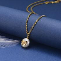 Collar de Oro con Circones -SSNEG18-20833