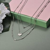 Collar de Acero Inoxidable para Mujer -SSNEG142-20949
