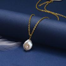 Collar de Oro con Circones -SSNEG18-20832