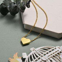 Collar de Acero Inoxidable para Mujer -SSNEG143-21064