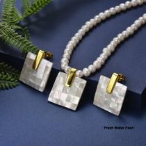 Conjunto de Acero Inoxidable para Mujer -SSCSG142-20972