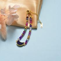 Pulsera de Acero Inoxidable en Moda para Mujer -SSBTG142-21056