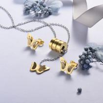 Conjunto de Joyas Acero Inoxidable -SSCSG126-21412