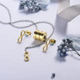 Conjunto de Joyas Acero Inoxidable -SSCSG126-21416