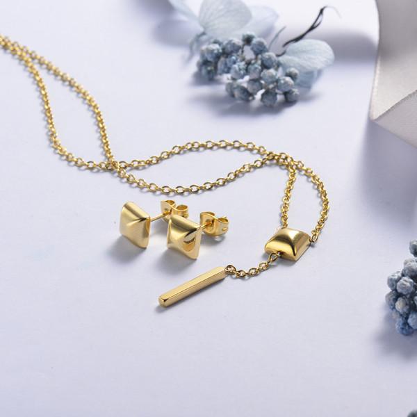 Conjunto de Joyas Acero Inoxidable -SSCSG126-21419
