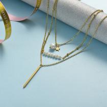 Collar de Acero Inoxidable -SSNEG142-21494