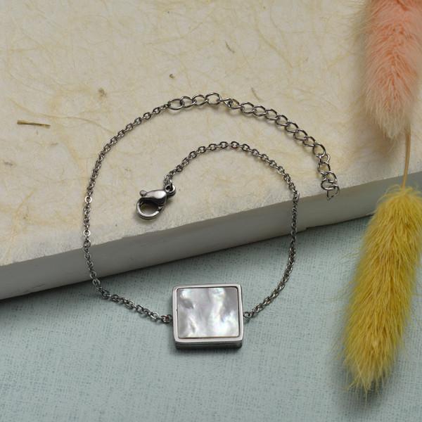 Collar de Acero Inoxidable para Mujer -SSBTG143-21916-S