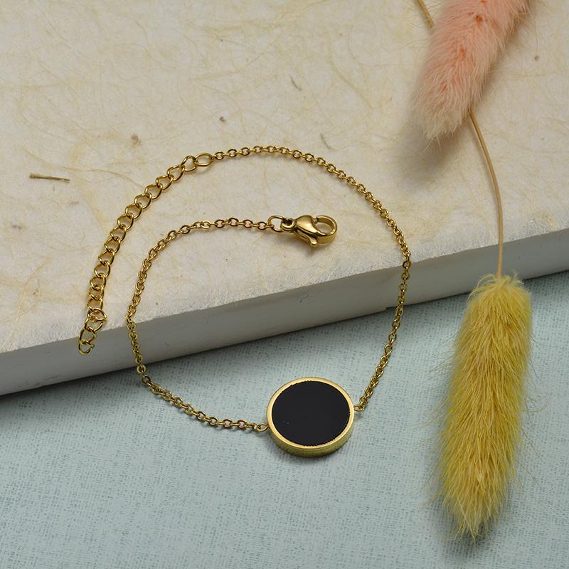Collar de Acero Inoxidable para Mujer -SSBTG143-21920-G