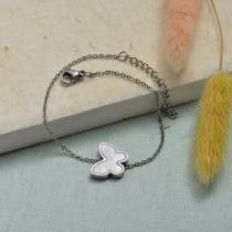 Collar de Acero Inoxidable para Mujer -SSBTG143-21926-S
