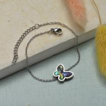 Collar de Acero Inoxidable para Mujer -SSBTG143-21927-S