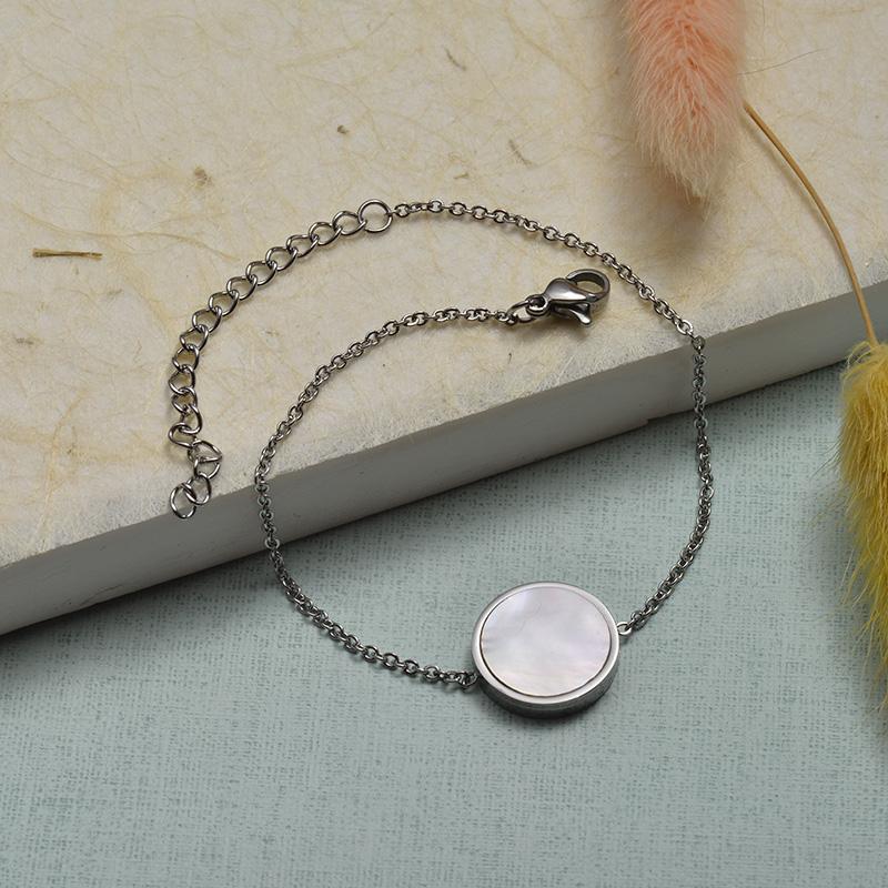 Collar de Acero Inoxidable para Mujer -SSBTG143-21919-S