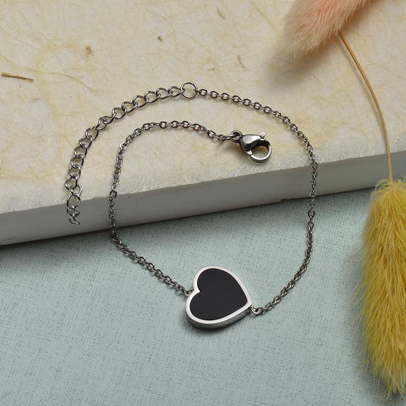 Collar de Acero Inoxidable para Mujer -SSBTG143-21922-S