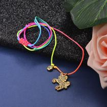 Collar de Acero Inoxidable para Mujer -SSNEG142-21604