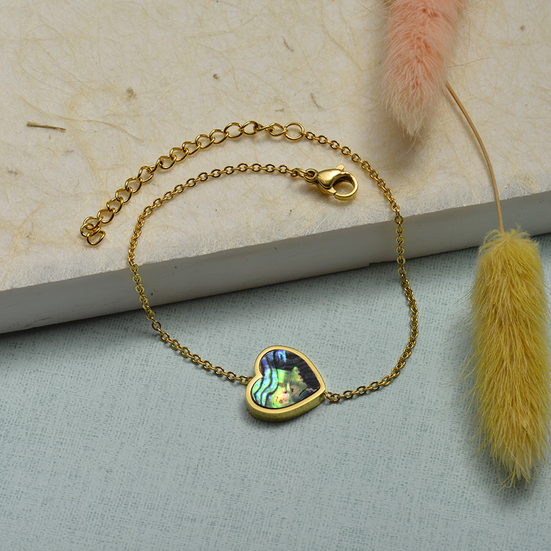 Collar de Acero Inoxidable para Mujer -SSBTG143-21924-G