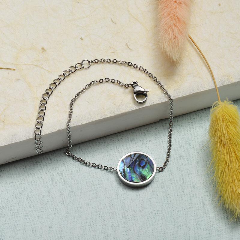 Collar de Acero Inoxidable para Mujer -SSBTG143-21921-S