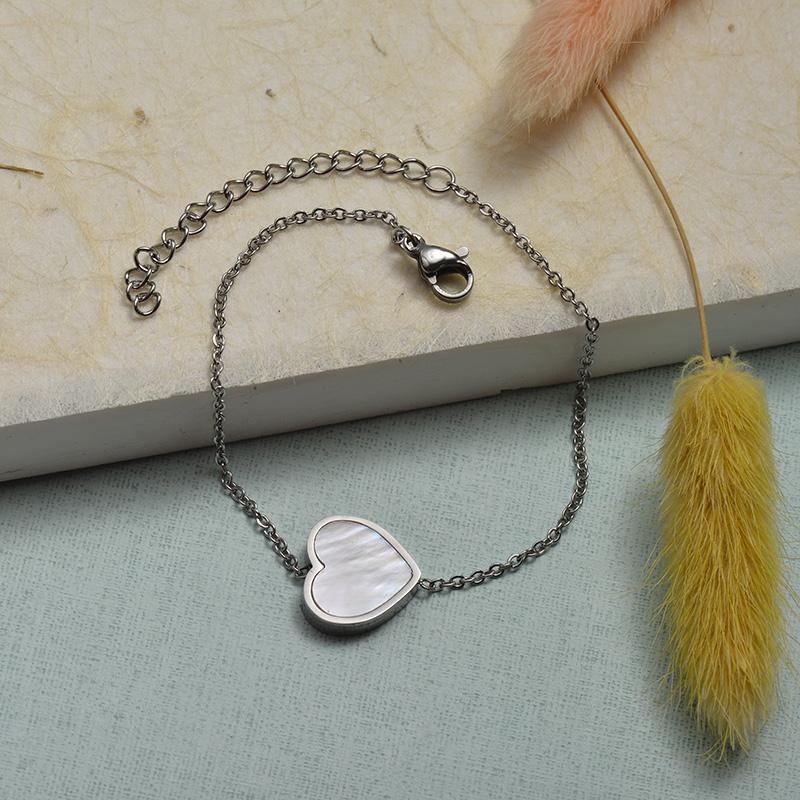 Collar de Acero Inoxidable para Mujer -SSBTG143-21923-S