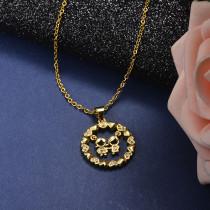 Collar de Bronce para Mujer -SSNEG142-21607