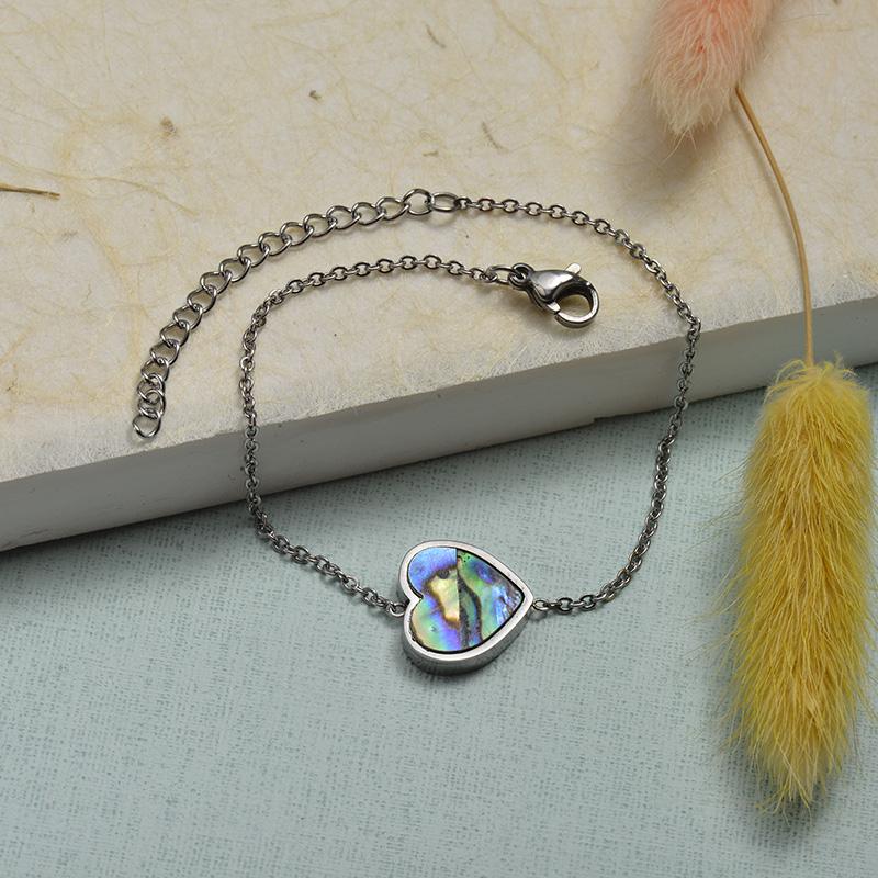 Collar de Acero Inoxidable para Mujer -SSBTG143-21924-S