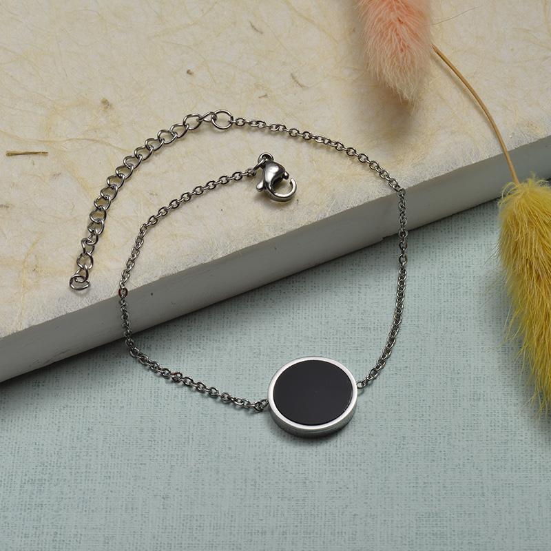 Collar de Acero Inoxidable para Mujer -SSBTG143-21920-S