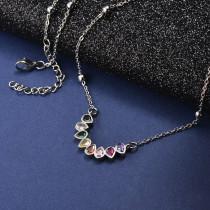 Collar de Bronce para Mujer -SSNEG142-21605