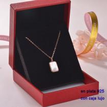Collar de Plata 925 con Circones para Mujer -PLNEG189-22306