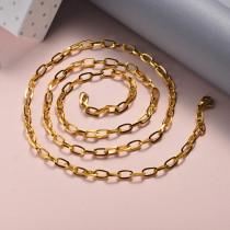 Collar de Acero Inoxidable para Mujer -SSNEG142-22041
