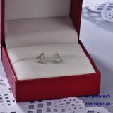 Aretes de Plata 925 con Circones para Mujer -PLEGG190-22439