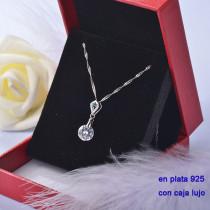 Collar de Plata 925 con Circones para Mujer -PLPTG191-22208