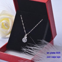 Collar de Plata 925 con Circones para Mujer -PLPTG191-22207