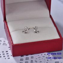 Aretes de Plata 925 con Circones para Mujer -PLEGG190-22440