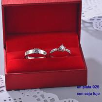 Anillos de Plata 925 con Circones para Mujer -PLRGG190-22436