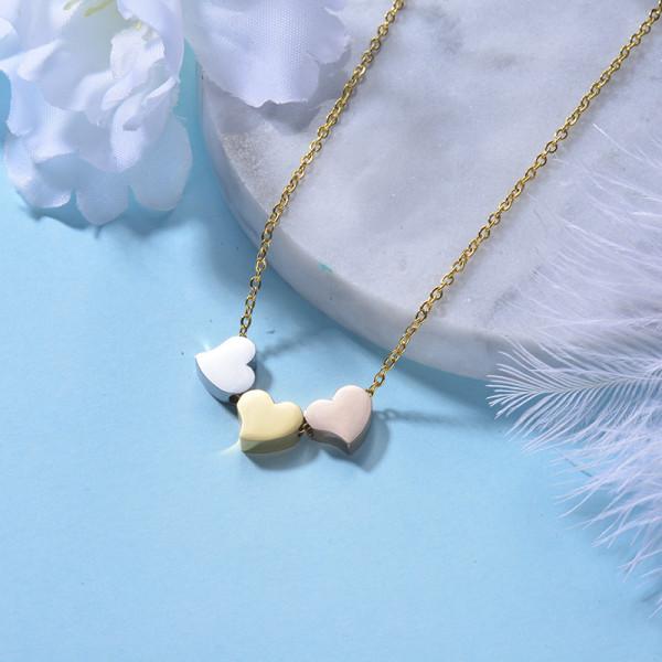 Collar de Acero Inoxidable para Mujer -SSNEG143-22175